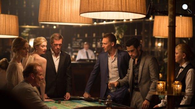 John le Carré: Éjszakai szolgálat - Tom Hiddlestone, Hugh Laurie, Olivia Colman és Elizabeth Debicki, 2016 (Fotó: listal.com)