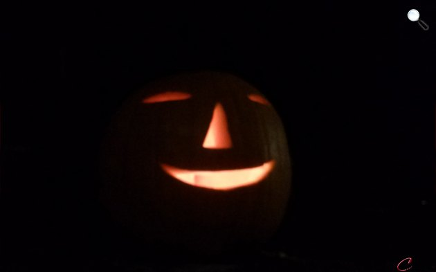 Töklámpás halloween éjszakáján, októberben (Fotó: Cultura.hu)