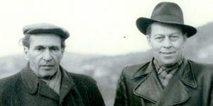 Déry Tibor és Örkény István, 1953 (Forrás: MEK)