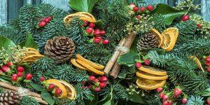 Karácsonyi, adventi koszorú (Fotó: pixabay.com)