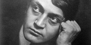 Ady Endre (1877-1919) költő, publicista, 1908 (Fotó: Székely Aladár / PIM)