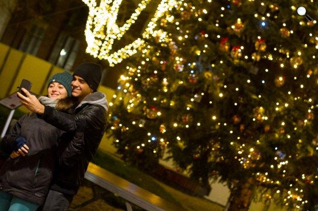 Advent Budapesten karácsonyfa, Budapest (Fotó: Geberle Berci)