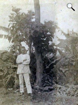 Arthur Rimbaud (1854-1891) francia költő, Harar, Etiópia, 1883 (Fotó: danielethiopia.blogspot.com)