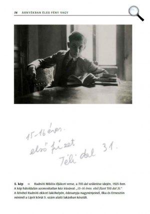 Árnyékban éles fény vagy - A Radnóti házaspár fényképei - Radnóti Miklós 1925-ben (Fotó: Jaffa Kiadó)