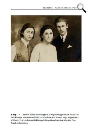 Árnyékban éles fény vagy - A Radnóti házaspár fényképei - Radnóti Miklós nevelőanyjával és húgával, 1920 körül, Nagyvárad (Fotó: Jaffa Kiadó)