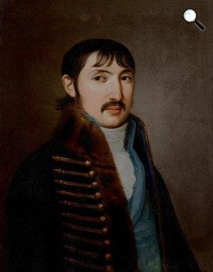 Stunder János Jakab: Csokonai Vitéz Mihály portréja, 1809 (Fotó: KOGART)