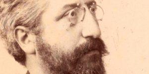 Goldziher Ignác (1850-1850) nyelvész, iszlám kutató, 1892 (Fotó: OSZK)