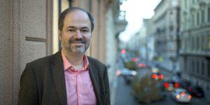 Juan Villoro mexikói író, Budapest (MTI Fotó: Mohai Balázs)