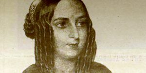Jókai Mórné Laborfalvi Róza (1817-1886) színésznő (Fotó: OSZK)