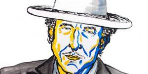 N. Elmehed: Bob Dylan, 2016 (Fotó: nobelprize.org)