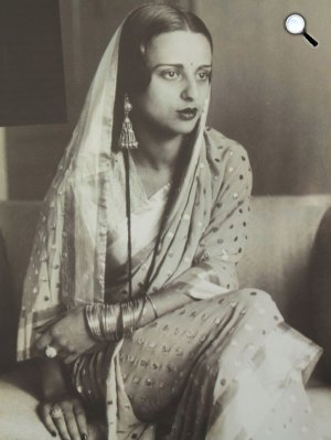 Amrita Sher-Gil (1913-1941) festőmvész (Fotó: mma.hu)
