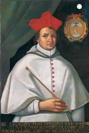 Fráter György (Martinuzzi György) bíboros (1482–1551), esztergomi érsek (Fotó: MTA)