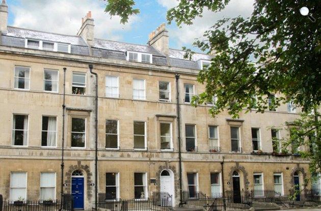 Jane Austen egykori otthona Bath-ban ma (Fotó: janeausten.co.uk)