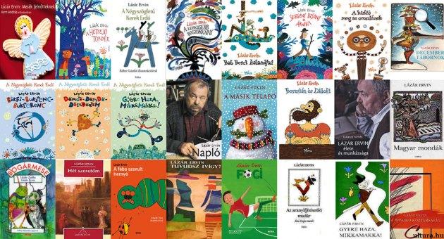 Lázár Ervin - könyvek (Fotó: Cultura.hu)