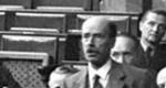 Gróf Bethlen István az országházban (Fotó: Magyar Országos Levéltár)