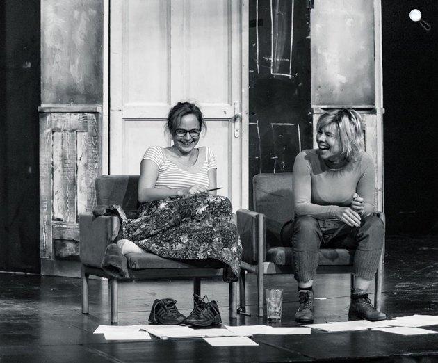 Ibsen: Nóra - karácsony Helmeréknél, próba, Katona József Színház (Fotó: Horváth Judit)