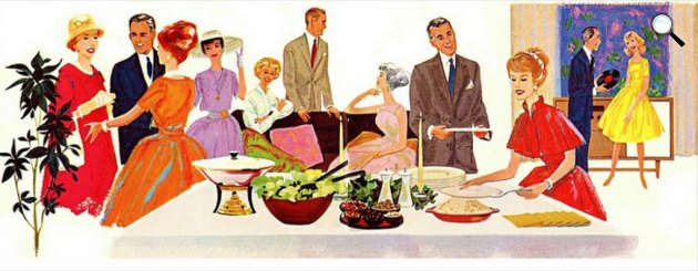 Szórakozó emberek, parti, rendezvény (Fotó: listal.com)