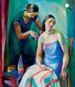 Patkó Károly: Fésülködés (Toilette), 1929 (Fotó: Kieselbach Galéria)