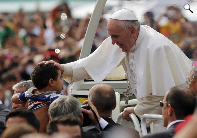 I. Ferenc pápa (Fotó: Twitter)