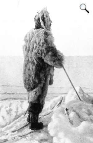 Roald Amundsen expedíciója, 1909 (Fotó: Wikipédia)