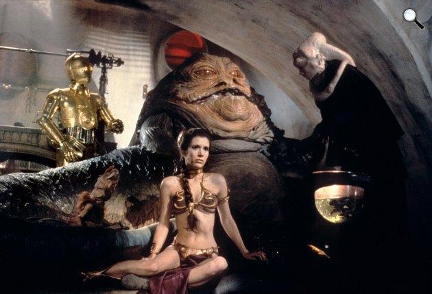Star Wars: Jedi visszatér - Carrie Fisher (Fotó: listal.com)