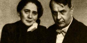 Kosztolányi Dezsőné Harmos Ilona és Kosztolányi Dezső (Fotó: OSZK)