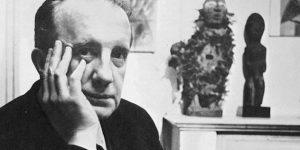 Paul Éluard (1895-1952) szürrealista költő (Fotó: babelio.com)