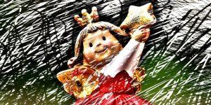 Karácsonyi angyal figura (Fotó: pixabay.com)