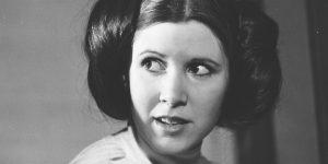 Star Wars - Carrie Fisher (Fotó: listal.com)