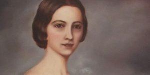 Szendrey Júlia portréja (Forrás: MEK)