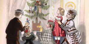 Karácsony Angliában, 18-19. század (Fotó: Wikipédia)