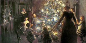 Karácsony, szenteste a 19. században (Fotó: pixabay.com)
