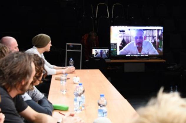 Rendezés - olvasópróba, Vígszínház (Fotó: Szkárossy Zsuzsa)
