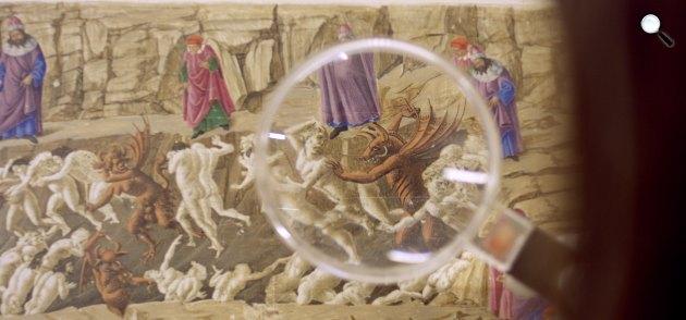 A művészet templomai - Botticelli: Dante pokla(Fotó: Pannonia Entertainment) - ördög