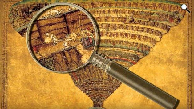 A művészet templomai - Botticelli: Dante pokla(Fotó: Pannonia Entertainment)