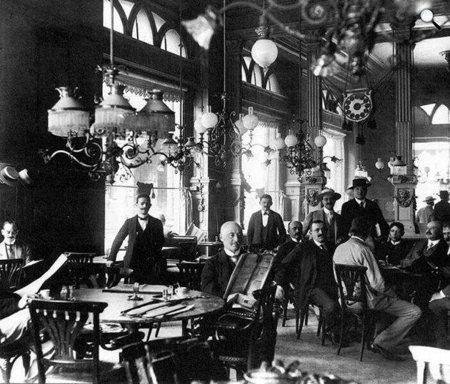 Centrál Kávéház az 1920-es években (Fotó: Centrál Kávéház / Facebook)
