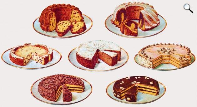 Dr. Oetker sütemények (Fotó: Wikipédia)