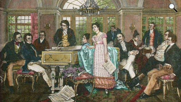 Franz Schubert koncertet ad (Fotó: WDR)