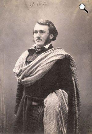Gustave Doré (1832-1883) francia grafikus (Fotó: Félix Nadar / Wikimédia)