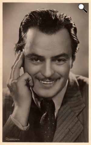 Jávor Pál (1902-1959) színművész (Fotó: szineszkonyvtar.hu)