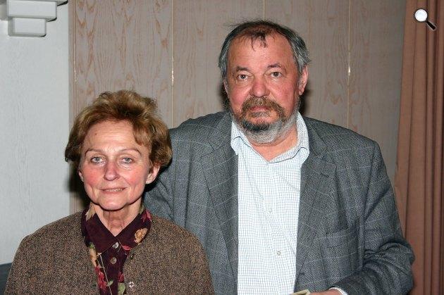 Vathy Zsuzsa író és férje, Lázár Ervin író, 2005 (Fotó: Wikipédia)