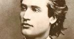 Mihai Eminescu (1850-1889) költő (Fotó: Wikipédia)