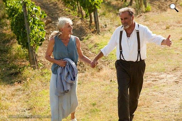 Levelek Júliának -  Vanessa Redgrave és Franco Nero, 2010 (Fotó: listal.com)