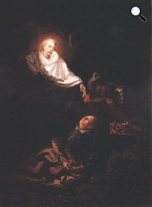 Madarász Viktor: A bujdosó álma (Thököly álma), 1856 (Fotó: MNG)