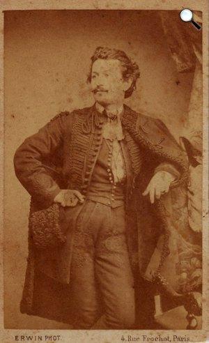 Madarász Viktor (1830-1917) festőművész (Fotó: Erdős Renée Ház)