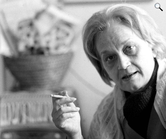 Nemes Nagy Ágnes (1922-1992) költő (Fotó: PIM)