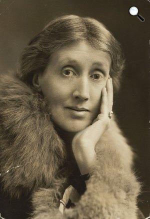 Virginia Woolf (1882-1941) írónő, kiadó, 1927 (Fotó:  babelio.com)