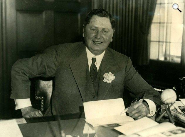 William Wrigley Jr., a Wrigley gyár alapítója (1861-1932) (Fotó: wrigley.com)