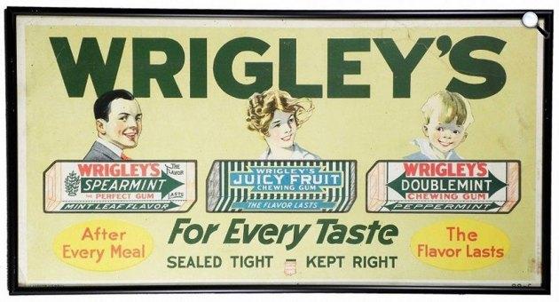 Wrigley\'s rágógumik (Fotó: wrigley.com)