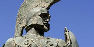I. Leónidasz, az ókori Spárta királyának szobra (Fotó: pixabay.com9